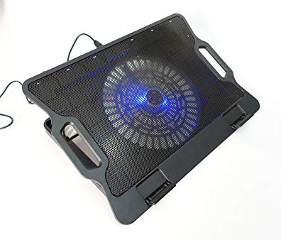 LapWorks Air Lift, Cooling Notebook Riser with Blue LED Fan(s) (1 fan)