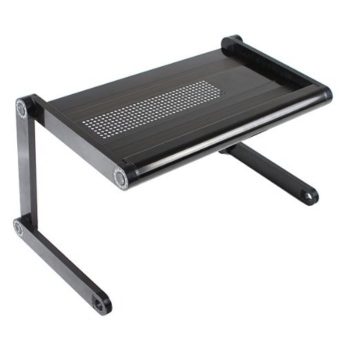 amzdeal® Adjustable Vented Laptop Table Portable Bed Tray Book Stand Tabletop up to 15 Inch