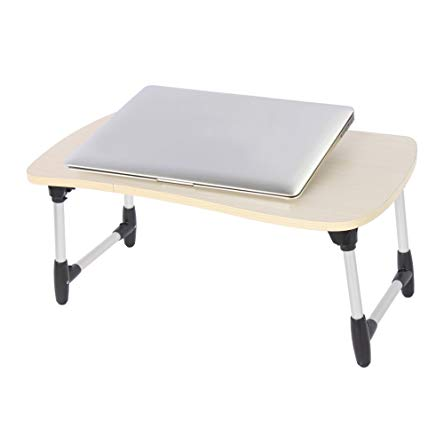 Etable Multipurpose Laptop Table with Folding Legs, Tablet Stand Reading Holder Breakfast Tray Writing Table for Couch, Bed, Sofa, Recliner