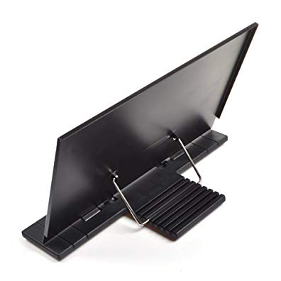 Greenter Portable Steel Book Stand Reading Desk Holder Tilt Adjustment Xmas Gift (With LOGO)